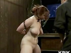 awesome beautiful lady dominated and gang-banged