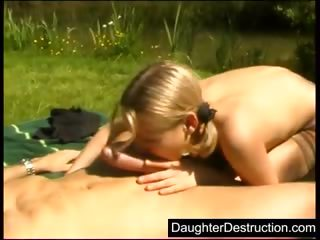 amateur young daughter brutally gangbanged