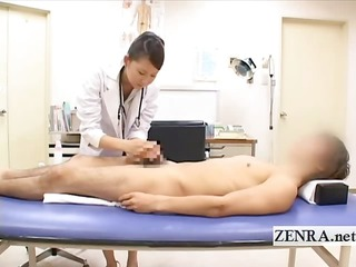 cfnm japanese woman medic bathes patients hard