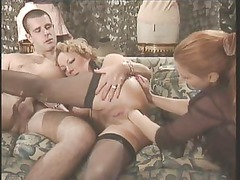 german mature triple
