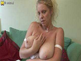 huge titted italian mother exposes off great rack