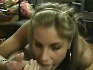 smoking handjob and very big facial
