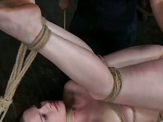 awesome hot lady in bondage deed