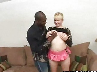 horny blond unmerciful fuck with bbc