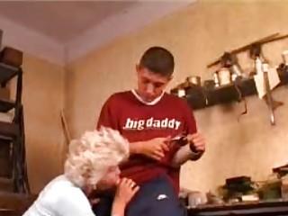 inexperienced elderly taking ass banged