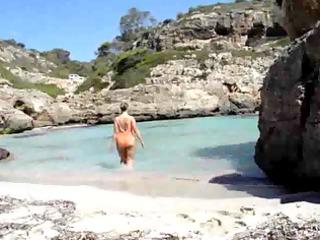 sarah at the shore