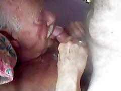 granny boy obtains facial