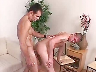 gay butt obtains pounded by a big dick