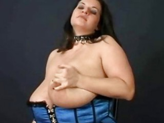 huge tit bbw pornstar maria moore ties up her