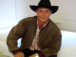 gay cowboy obtains rid of his pants