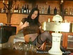 pretty pregnant sex clip