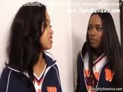 Three Ebony Girls fucked by White Stud Teacher