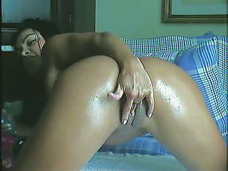 sweet latin brazilian angel obtains vibrator