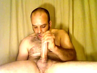 aaron powell loves to cum down his own gorge