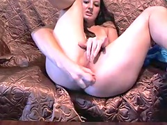 orgasm and squeezing into private show