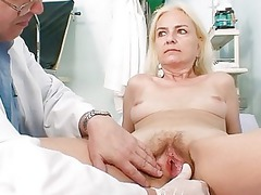 thin bushy old girl medic treatment