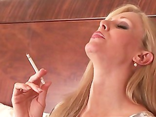 incredible mature smoking