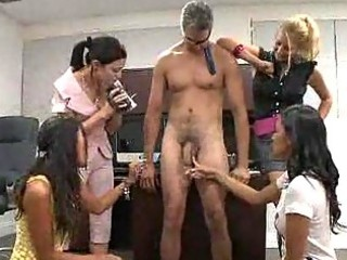 femdom point of view gathering with mistresses