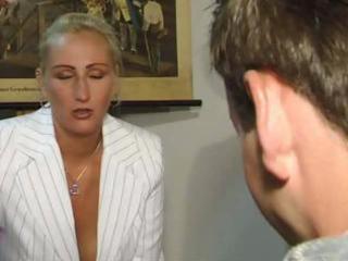german professor pierce with a amateur man
