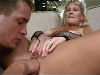 aged maid levada ross bonks younger man