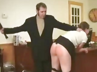 spanked and paddled at labor
