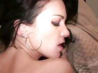 dick hungry brunette gf painful butt first period