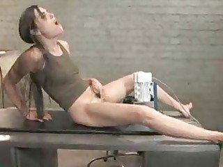 desperate sasha grey spreads her foot