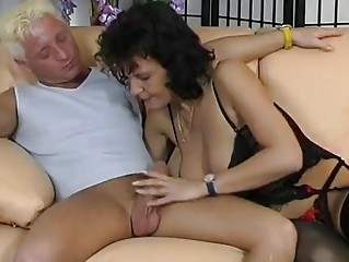 drilled mature german takes pleased  inferno