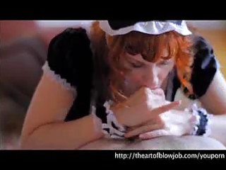 french maid halloween fellatio