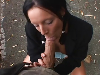 outdoor cock sucking