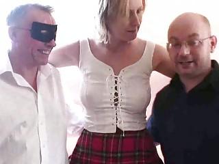 filming 2 men gangbanging my woman
