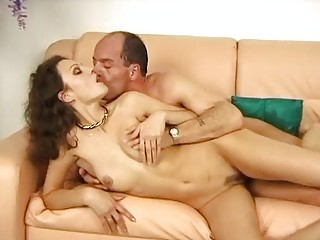hot german chick bounces on a inflexible dick