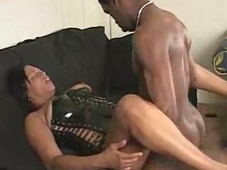 ebony lady tough porn