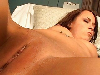 tattooed young brunette with fucking acquires