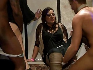 yong chick fucked hard after dance