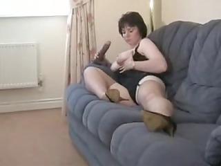 elderly in pantyhose