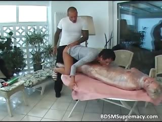obsess adoring bleached maid is blindfolded part2