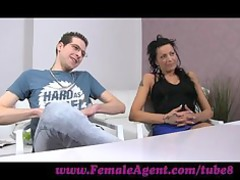 femaleagent. stud becomes a third wheel inside