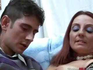desperate redhaired american mother e220