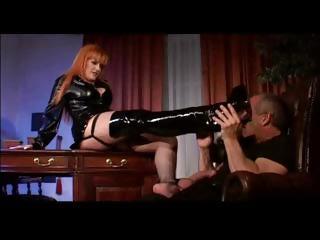 bureau dominatrix copulates boss