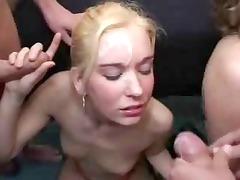 german facial gangbang albino