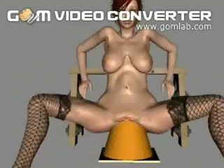 3d cartoon chicks can take anything