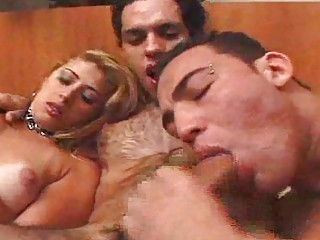 triple fuckers and a babe lick gang bang and sperm