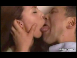 horny oriental maiden does a tongue dance with