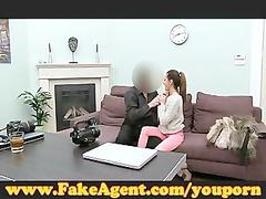 fake agent: scholar obtains drilled arse during