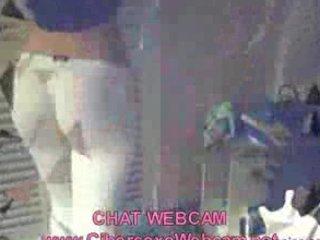hot male dancing into webcam