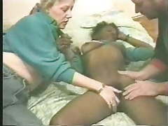 pervet duo paid young black hooker. home made