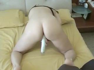 caught mom masturbating with porn device at home