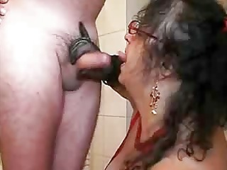 german dick sucking spraying