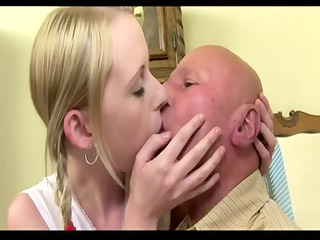 old guy pierce his juvenile chick (creampie) part